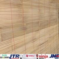 tirai kerey bambu ati ukuran L 100cm x P 200cm