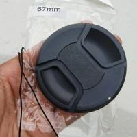 Lenscap Universal 67mm Tutup Lensa