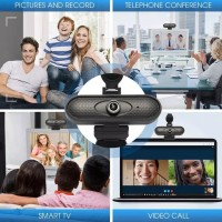 Webcam Full HD 1080P with mic .