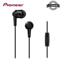 Earphone Pioneer SE C3T Stereo With Mic SE-C3T