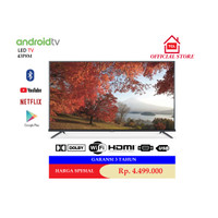 LED TCL 43 Inch 43P8M 4K UHD Google Android TV