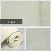 Wallpaper Sale Ready Putih Tulang 53CM X 10M