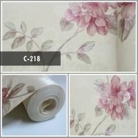 Wallpaper Sale Ready Floral Soft Pink 53CM X 10M