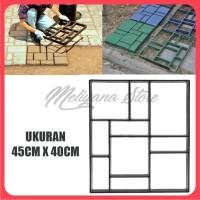 Cetakan Paving Block DIY Paving Blok Cetakan Jalan - KOTAK BALOK