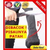 Sarung Tangan survival Anti Begal ARM SLEEVE ANTI Bacok Sobek Maling