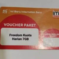 Voucher Paket Data Indosat Harian 7GB
