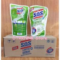 Pembersih Lantai SOS Sereh Refill 700ml Floor Cleaner Fresh Citronella
