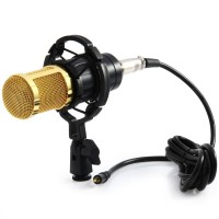Condenser Studio Microphone with Shock Proof Mount Professional
