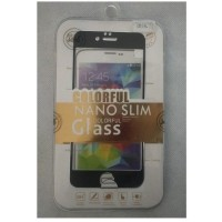 Jete Tempered Glass Colorful Nano Slim Iphone 6 - Black