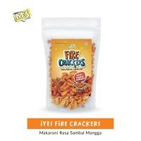 Iyes Fire Crackers Rasa Sambal Mangga - 125gr