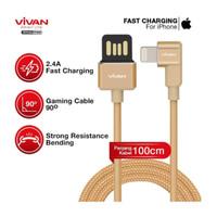 VIVAN BWL100 iphone Lightning Kabel Data Fast Charge 1m 2.4A Original