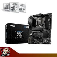 Motherboard MSI Z490-A Pro LGA 1200 Comet Lake ATX Form Factor