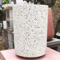 Pot Teraso Granit Tabung