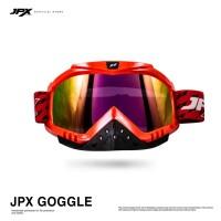JPX Cross Goggle - Red Gloss / Rainbow
