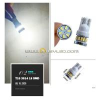 Lampu LED T10 Rotary 18 mata 3014 Senja Sein Sen Rem Plat Mobil Motor