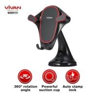 VIVAN Car Holder Universal CHS07 Rotasi 360° Pengunci Otomatis