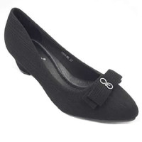 Laviola Shoes - Pantofel Shoes Wanita - 2602 FFS Black