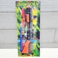 Mainan Tembakan Anak Peluru Nerf Lethal Weapon