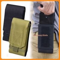Tas Pinggang Handphone Army 5,5 6 Inch - Sarung Hp Tactical Army