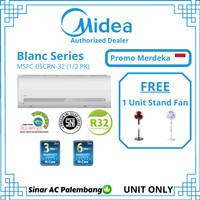AC Midea 1/2 PK MSBC-05CRN1 Standard Freon R410A