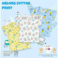 Libby Oblong Cotton Print