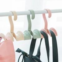 Hanger multifungsi gantungan tali pinggang bando tas dasi