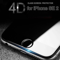 Tempered Glass FULL COVER 4D iPhone SE 2020 / SE2 / 7 / 8