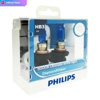 Philips Diamond Vision 5.000K HB3 (9005) Bohlam Lampu Mobil Putih