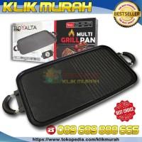 Healthy Yakiniku Grill Pan - Alat Panggang Double Side Pan