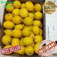 HARGA GROSIR 1kg Jeruk Lemon California Buah Jeruk Lemon