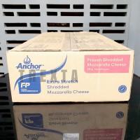 KEJU PARUT ANCHOR / SHREDDED MOZZARELLA CHEESE REPACK 1 KG