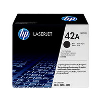 HP Q5942A BLACK ORIGINAL LASERJET TONER CATRIDGE