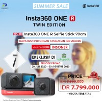 Insta360 One R Twin Editon Action Camera - Insta 360 One R