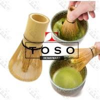 Chasen Bambu Kuas Pengaduk Matcha Green Tea Japan Bamboo Whisk Brush