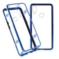 F7 Oppo PREMIUM MAGNETIC Glass Case Casing 2in1 Magnetik Cover Kaca