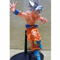 Action Figure Dragon Ball Ultra Instinct Form Silver Hair
