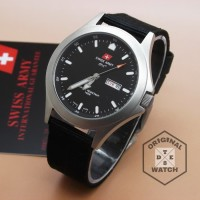 Jam Tangan Pria Swiss Army ORIGINAL Canvas 1 Year Guaranted
