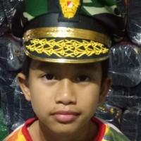 Dijual pet/topi profesi TNI loreng/ABRI anak2 cowo dan cewe