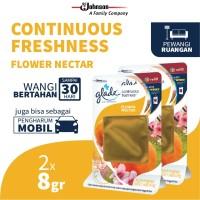 [Dapat 2 pcs] Glade Continuous Freshness Refill Flower Nectar 8gr