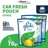 [Dapat 2 pcs] Glade Car Citrus Refill 70gr