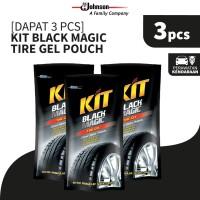 [Dapat 3 pcs] Kit Black Magic Tire Gel Pouch 200mL