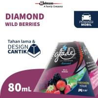 Glade Diamond Wild Berries Reg 80mL - Pengharum Mobil