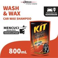 Kit Wash & Wax Pouch 800mL - Shampoo Mobil dengan Wax