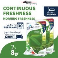 [Dapat 2 pcs] Glade Continuous Freshness Refill Morning Freshness 8gr