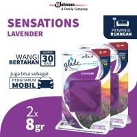[Dapat 2 pcs] Glade Sensations Refill Lavender 8gr