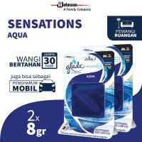 [Dapat 2 pcs] Glade Sensations Refill Aqua 8gr