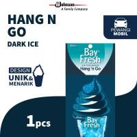 Bayfresh Hang n' Go Dark ice - Pengharum Mobil