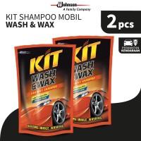 Kit Shampoo Mobil Wash & Wax Pouch 400mL x 2pcs