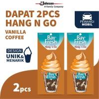 [Dapat 2 pcs] Bayfresh Hang n Go Caramel Coffee - Pengharum Mobil