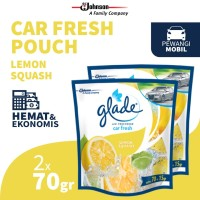 [Dapat 2 pcs] Glade Car Lemon Squash Refill 70gr
